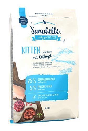 Sanabelle Kitten   Katzentrockenfutter für heranwachsende & tragende / säugende Katzen, 1er Pack (1 x 10000 g)
