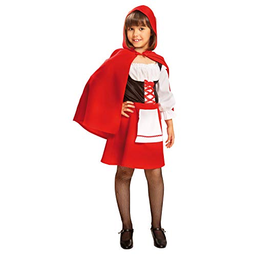 My Other Me Me-200693 Disfraz de Caperucita para niña, 3-4 años (Viving Costumes 200693