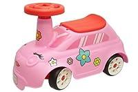 DESCRIZIONE: Macchina primipassi adriatic colore rosa. DIMENSIONI: Larghezza: 240 mm Profondità: 520 mm Altezza: 330 mm Peso: 1,3 Kg