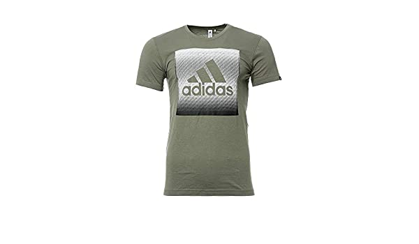 adidas Tee Shirt Kaki Homme QQr Faded Box:
