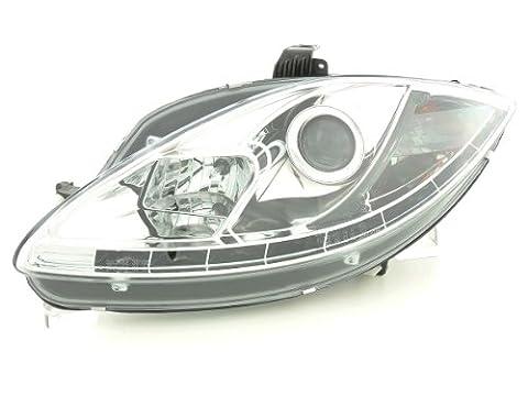 FK Automotive FKFSSE010017 Daylight Scheinwerfer mit Tagfahrlicht fit für Seat Leon (Typ 1P) / Altea/Toledo (Typ 5P) Bj. 05-