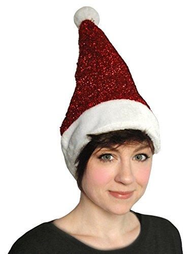 Keine, wo To Go Auswahl Weihnachten Zubehör FLF Hat, Elf Schuhe, Santa Hat, Rentier Geweih, Schleife Hand Band, Santa, Party Pack, Spitzen Handschuhe, Halskette, Tisch, Gr. Einheitsgröße, Sparkle Lurex Tinsel (Hat Kostüme Elf)