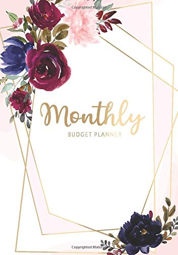 Monthly Budget Planner: Watercolor Flower Cover | Daily and Weekly Expense Tracker | Business Money Personal Finance Journal | Monthly Bill Organizer ... Planners Organizer for Women, Men, Band 5) (Tracker Money Personal)