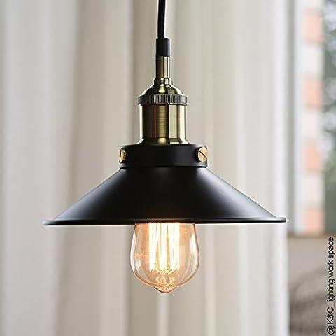 SSBY Industriale americano ristorante vento LOFT creativo scandinavo terrazza retrò corridoio ingresso testata little black dress lampadario diametro: 230 mm