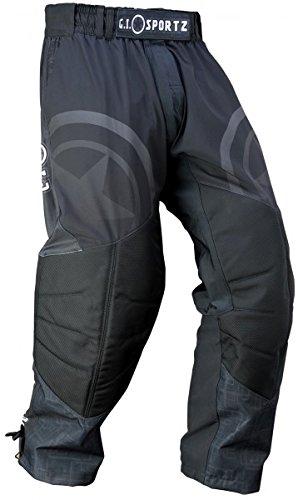 Paintball Hose G.I. Sportz Glide Performance Pant schwarz, Größe:XL (Gi Bund Elastischen)