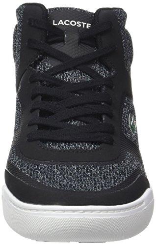Lacoste Explorateur Sport Mid, Sneaker Uomo Nero (Blk/wht)