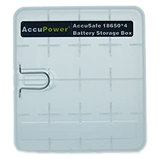 AccuPower BOX18650 Quality Storage Box.
