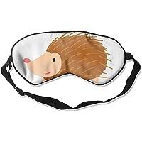 Comfortable Sleep Eyes Masks Hedgehog Pattern Sleeping Mask For Travelling, Night Noon Nap, Mediation Or Yoga preisvergleich bei billige-tabletten.eu