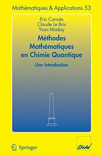 [(Methodes Mathematiques En Chimie Quantique