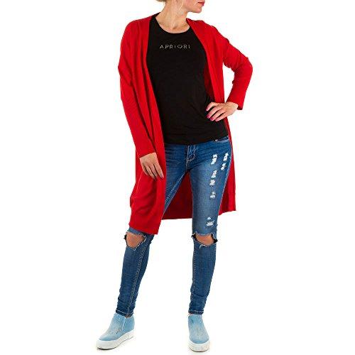 Ital-Design - Pull - Femme Rouge - Rouge