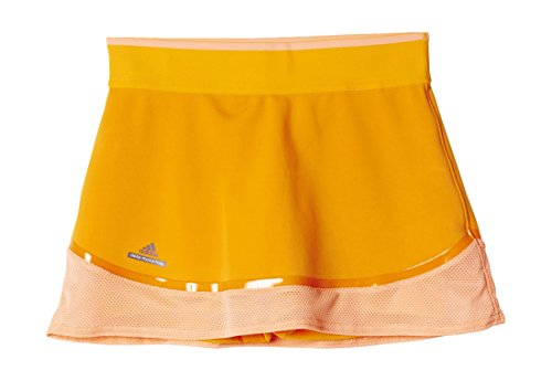 adidas Mädchen Rock G Skort, Gold/Orange, 140, 4056559341770
