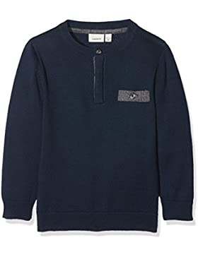 NAME IT Baby-Jungen Pullover Nitfilister Ls Knit M Mini