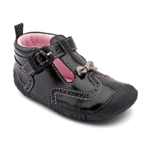 Start Rite , Chaussures premiers pas pour bébé (fille) Noir - Schwarz (glänzend)