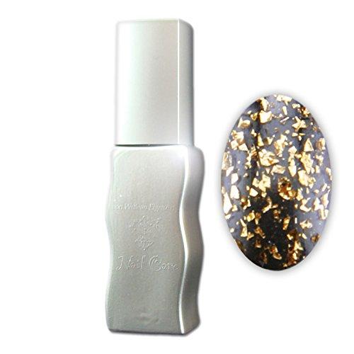 Eigenart UV Vernis à Ongles/Gel Polish Flux UV polix – Puces Copper (Transparent avec des particules), 10 ml