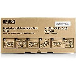 Original Epson C13T619100 / T6191 Cartouche de nettoyage (Borderfree) pour Stylus Pro 4900