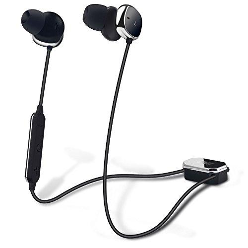 Auricolari Bluetooth con Cancellazione Attiva del Rumore - August EP725 -  Cuffie Wireless Active Noise Cancelling db627709ef55
