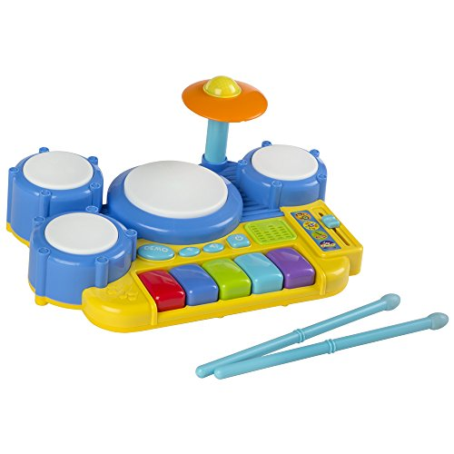 WinFun - Batería electrónica infantil, tamaño 30 x 23 x 12 cm...