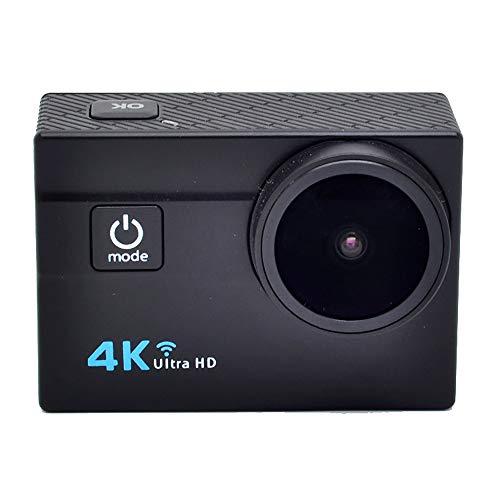 """TBY Action Camera, 4K Sport Kamera WiFi 2\""""Touchscreen 16MP Ultra HD Camcorder Wasserdichte CAM 173 ° Weitwinkel 50M Unterwasser Tauchen Für Fahrrad Klettern Schwimmen Etc,Black"""