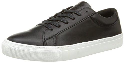Jack & JonesJjgalaxy Leather Sneaker Anthracite - Scarpe da Ginnastica Basse uomo , Marrone (Brown (Anthracite)), 42