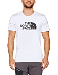 The North Face, M S/S Easy Tee, T-shirt, Uomo, Bianco (Tnf White), M