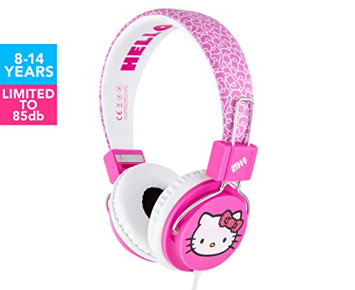 HELLO KITTY TEEN HEADPHONES PINK BUBBLE - Kitty Hello Teen