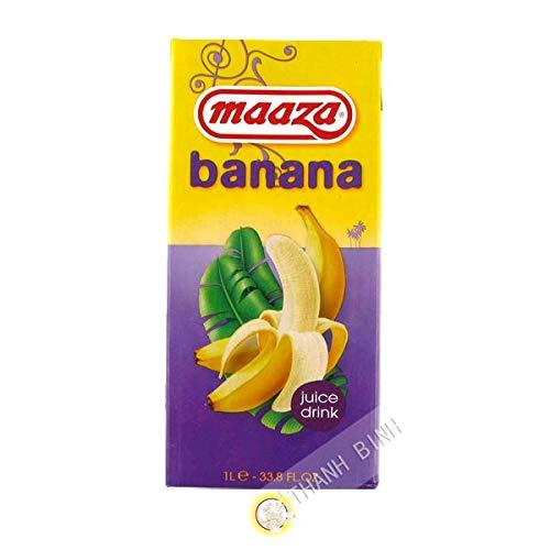 Bananensaft MAAZA 1L Pay Bas - Pack 6 stück