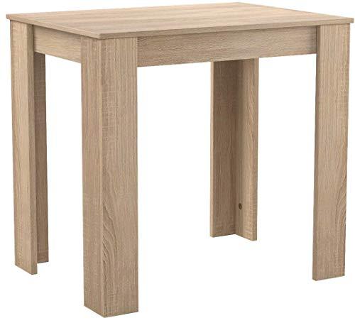 storado.de Esstisch Pit 0566/80x60 Eiche sägerau Küchentisch Tisch Esszimmertisch