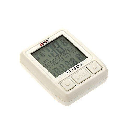 tourwin vitesse sans fil de vélo pour ordinateur odomètre Chronomètre avec écran LCD rétroéclairé résistant à l'eau multifonction