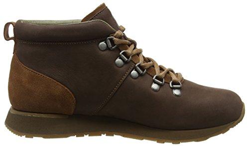 El Naturalista Nd62 Pleasant-Lux Suede Brown-Wood/Walky, Sneakers Hautes Mixte Adulte Marron (Brown-Wood Nnl)