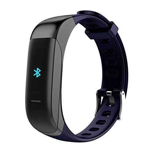 LRWEY Fitness Armband Herzfrequenz Smart Armband, Smart Watch Armband Herzfrequenz-Blutdruckmessgerät Fitness Tracker Bluetooth, für iPhone Android Handy