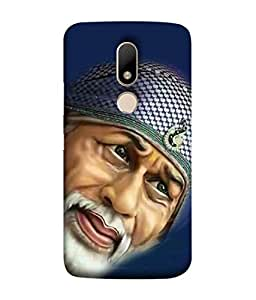PrintVisa Designer Back Case Cover for Motorola Moto M (Design Statue Background Wallpaper Hindu Art Culture)
