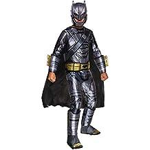Batman Y Superman Doj  Estreno En Cines 23 Marzo 2016, Disfraz Batman Armour Doj Premium, M (M (5 a 7 años)