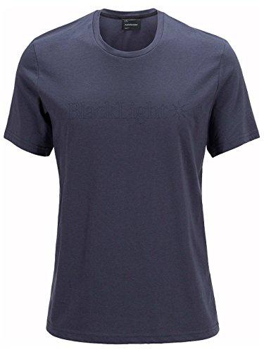 Herren Skiunterwäsche Peak Performance Black Light Logo Funktionsshirt dark slate blue
