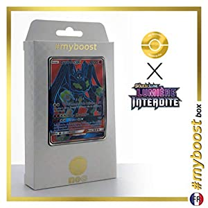 Zygarde-GX 123/131 Full Art - #myboost X Soleil & Lune 6 Lumière Interdite - Box de 10 Cartas Pokémon Francés