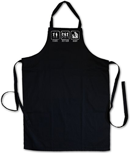Urban Backwoods GOOD BETTER BEST Tablier De Cuisine Cuisson Gril BBQ Barbecue APRON CUISSON GRIL BBQ Barbecue