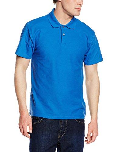 Fruit of the Loom Herren Poloshirt Ss046m Blau (Königsblau)