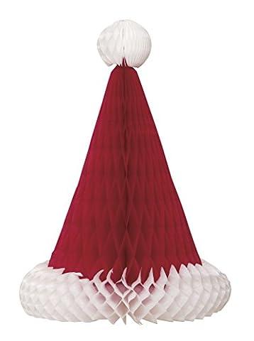 30cm Wabe Santa Hat Weihnachten Tisch