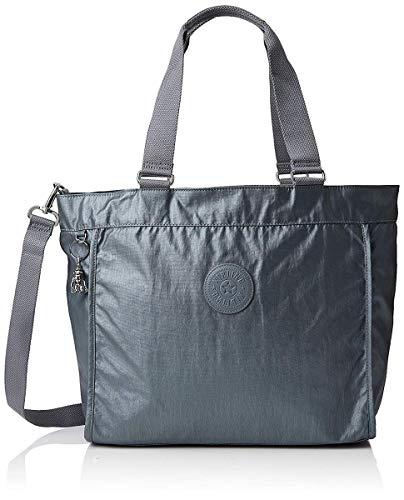 Kipling New Shopper L - Borse Tote Donna, Grigio (...
