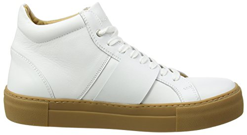 Won Hundred Shoes Herren Weimara_Ankle Sneaker White (Shoe Colour White)