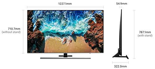 Samsung 55 Inches Ultra HD (4K) LED Smart TV (55NU8000, Black)