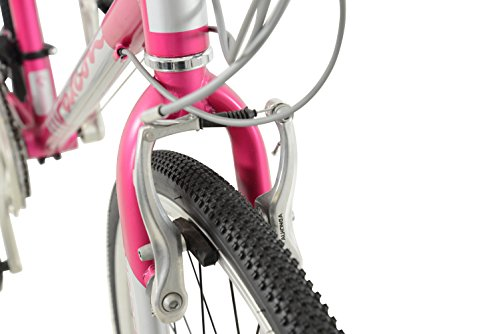 41Do2Y8U4oL - Falcon Women's Modena Alloy Hybrid-Pink/Silver, 12 Years