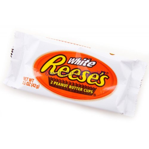 Hershey White Reeses 2 Peanut Butter Cups (42g.)