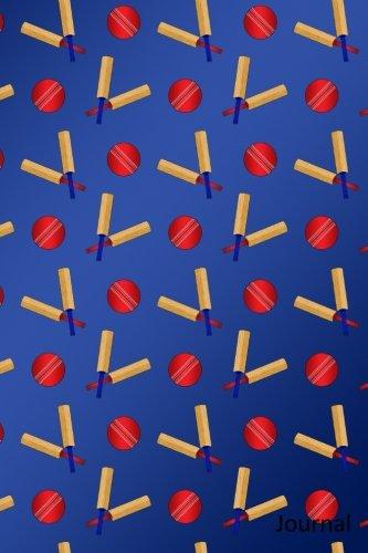 Journal: Navy blue cricket notebook Blue Cricket