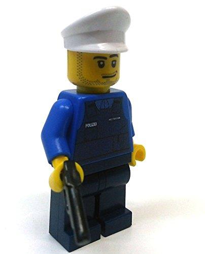 Modbrix 8237 – 2 Stück Deutsche Polizei Custom Minifiguren aus original Lego© Teilen - 3