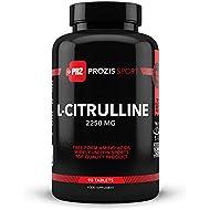 L-citrulina 2250 mg 90 comprimidos