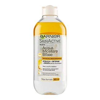Garnier – Agua micelar con Aceite de argán, 400 ml