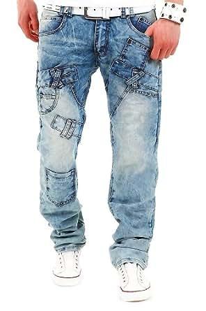 Jeans-Style Jeans Cargo Hellblau DF7409 [W29/L32]