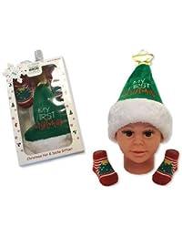 Coffret cadeau chapeau et chaussettes pour bébé fille – Mon ... b749200ab1c