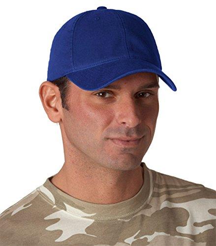 6997Flexfit Casquette profil bas Vêtement Lavable en Coton Bleu Marine