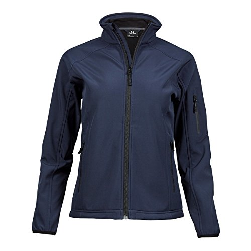 Tee Jays Damen Performance Softshell Jacke (L) (Marineblau)